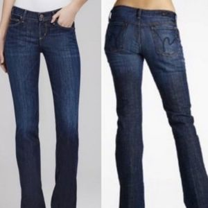 Citizens of Humanity Low Waist Bootcut Kelly Jeans